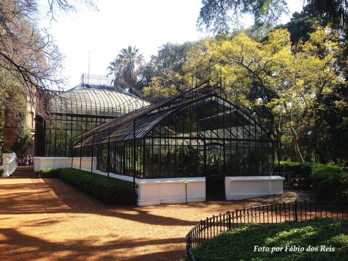Outra estufa do Jardim Botânico de CABA