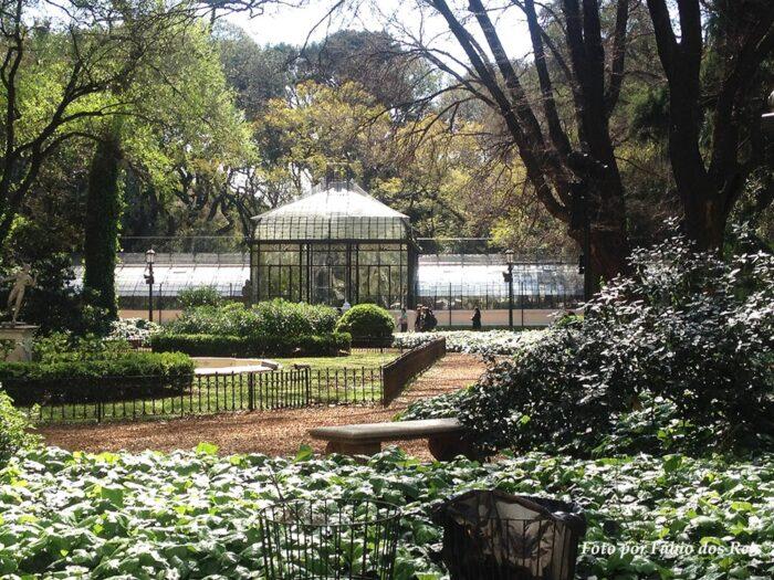 Estufa no Jardim Botânico de Buenos Aires