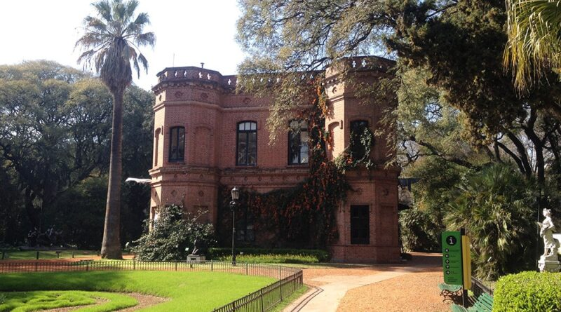 Edifício administrativo do Jardim Botânico de Buenos Aires