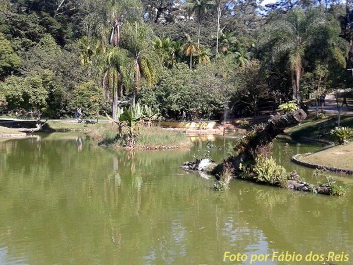Lago do Parque Celso Daniel, em Santo André