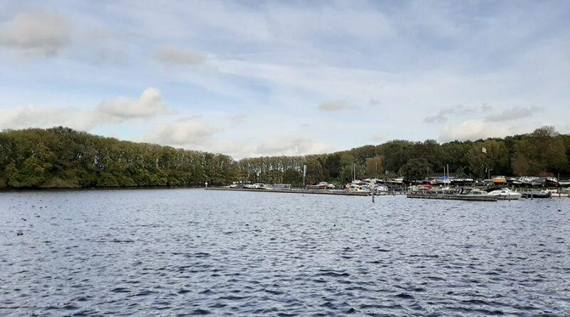 Lago Sloterplas em Amsterdam - Holanda