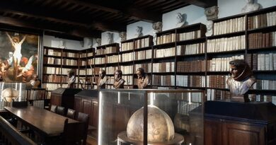 Biblioteca do museu Plantin-Moretus, na Antuérpia, Bélgica