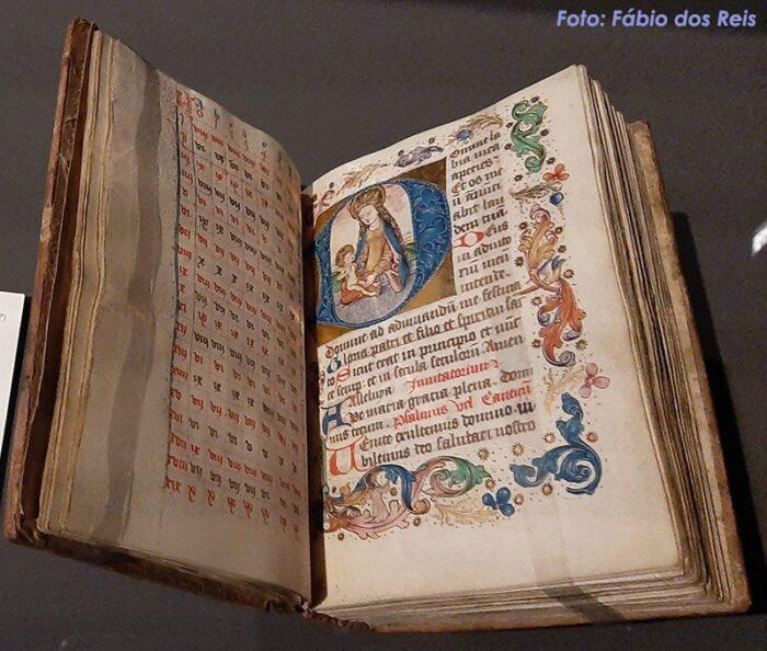 Breviário manuscrito no Plantin-Moretus