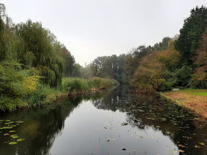 Canal no Amstelpark