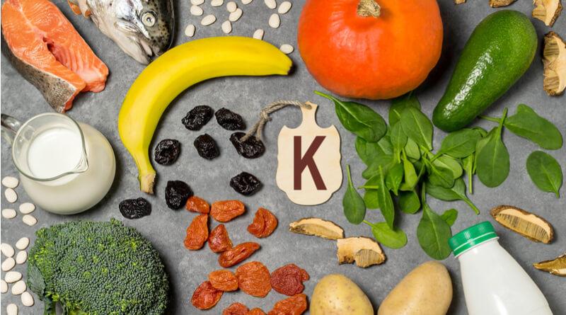 Alimentos Ricos em Potássio K